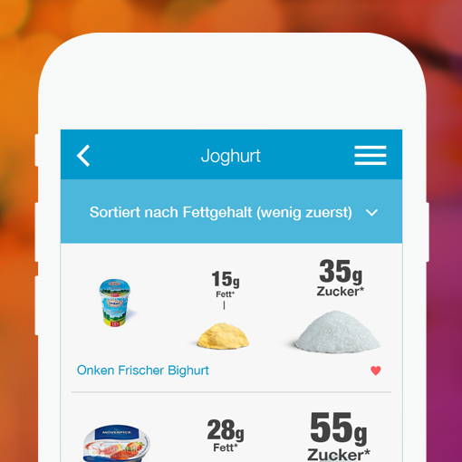 FoodControl App - bewusster konsumieren