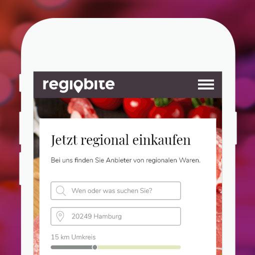 RegioBite - Schaffung eines Bestell- und Informationsdienstes fürs das regionale Lebensmittelhandwerk